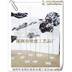铜荷叶不锈钢荷叶铁艺仿铜荷叶纯金属艺术品图片