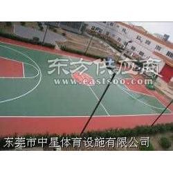 铺设丙烯酸球场工程、丙烯酸篮球场、丙烯酸网球场工程图片