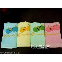纯棉刺绣毛巾图片