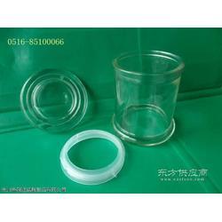 玻璃瓶螺纹烛台玻璃瓶厂图片