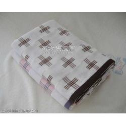 素十字格浴巾图片