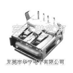 贴片USB插座、耐高温USB插座、双层USB插座图片