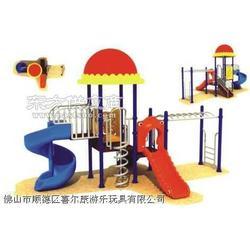 攀登架滑梯16-2图片