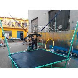 钢架小蹦极机器人拉车充气城堡图片