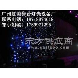 LED星星幕布 舞台星星幕布 婚庆星星幕布背景图片
