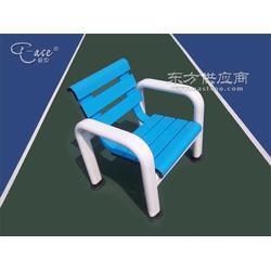 铝合金单人休息椅AY003蓝白相间新款图片