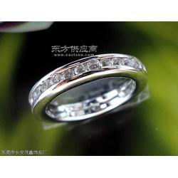 供应纯银首饰 925银戒指、镶石戒指图片