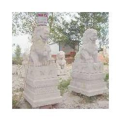 石雕狮子工艺品雕刻厂家图片