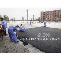 塑胶跑道翻新 塑胶跑道施工公司图片