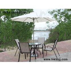 中柱铝伞别墅阳台花园庭院遮阳伞户外遮阳伞图片