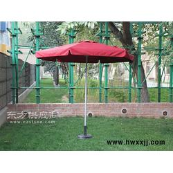 圆形中柱伞庭院太阳伞室外摆摊折叠广告伞馨宁居户外遮阳伞图片