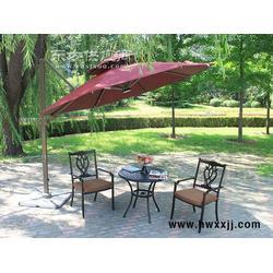 户外遮阳伞庭院伞太阳伞沙滩伞户外伞大型广告伞圆形偏转罗马伞图片