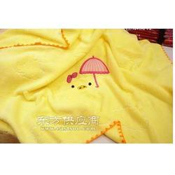 纯棉无捻纱柔软婴儿抱被 儿童毛巾被大浴巾图片