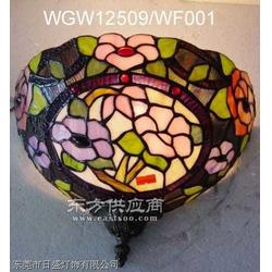 蒂凡尼壁灯,彩色玻璃制品,复古壁灯,过道壁灯图片