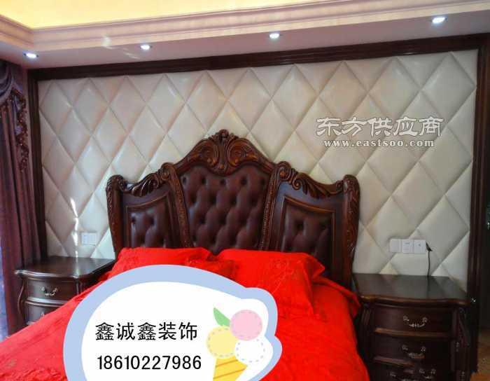 床头背景墙软包电视背景墙软包硬包欧式软包墙图片