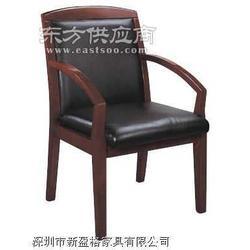 新盈格专业办公室内家具,实木会议椅,实木会客椅图片