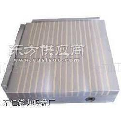 强力铜条永磁吸盘,竖条式强力磁盘图片