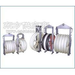 供应两轮转角地缆滑车多连体电缆滑轮三联滑轮图片