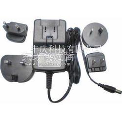 供应插头变换充电器变换插头充电器可换AC插脚充电器图片