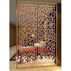 铝板雕花祥云隔断 欧式激光镂空玫瑰花屏风客厅玄关包厢隔断图片