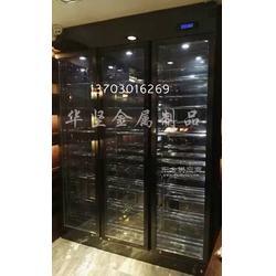 不锈钢酒柜制作工艺不锈钢酒柜_不锈钢酒柜酒架在线咨询图片