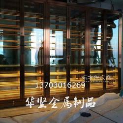 钛金时尚不锈钢酒柜定制 不锈钢酒柜,不锈钢酒柜厂家订做图片