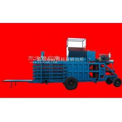 玉米秸秆打打包机移动式打包机牧草稻草打包机图片