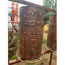 铜雕转经轮,铜雕转经筒,铜雕佛像图片