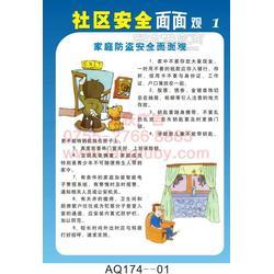 AQ439-企業班組事故案例精選警示掛圖 海報印刷圖片