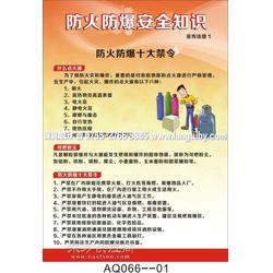 AQ264员工安全须知挂图-6张 海报印刷图片