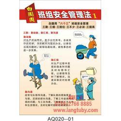 白国周班组安全管理法挂图海报印刷图片