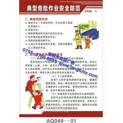 典型危险作业安全防范挂图海报印刷图片