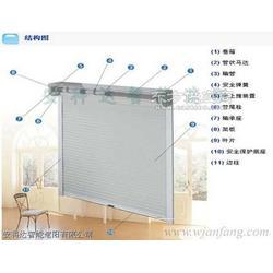 外遮阳卷帘,建筑外遮阳,铝合金卷帘窗图片