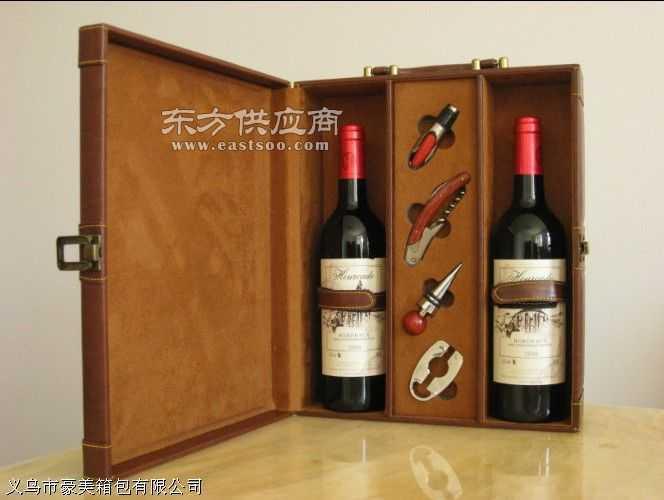 红酒皮盒子图片