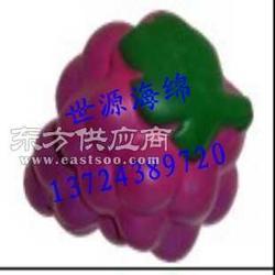 EVA双色发泡球磨砂成型 彩色EVA发泡高弹球模型图片
