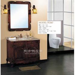 组合浴室柜镜灯浴室柜天然石材台面浴室柜图片