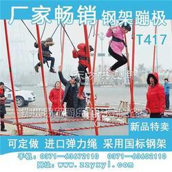 儿童蹦极床网 儿童蹦极设备 弹力绳蹦极配件图片