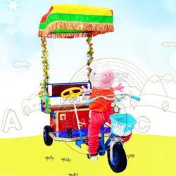 公园动物拉车机器人蹬车小洋人蹬车动物拉车电瓶车广场毛绒动物车图片