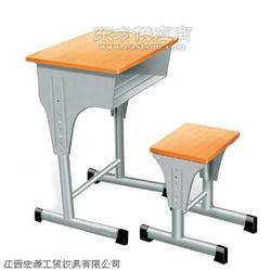 钢木课桌椅图片