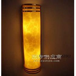 中式简约大堂云石壁灯可按尺寸定做图片