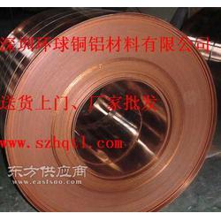 无氧紫铜带高精铜带厂家专业销售图片