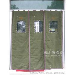 豪华棉门帘安装西四信誉为本图片