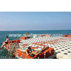 浮动浮桥,水上浮桥,组合式浮桥图片