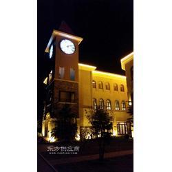 供应建筑钟表低层景观钟建筑塔钟图片