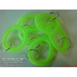 塑料弹簧发圈,塑料束发发圈 软胶弹簧发圈图片