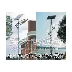 太阳能路灯照明系统图片
