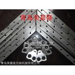 可拆式木箱包边钢带,包装箱零扣件,木箱钢边图片
