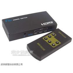 MINI HDMI切换器迷你版三进一出(3D)图片