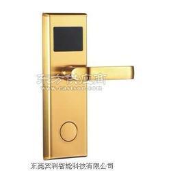 智能酒店实木复合门刷卡锁代理图片
