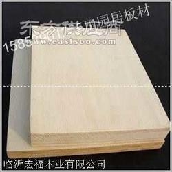 9mm单面奥古曼杨木胶合板 出口环保E1家具胶合板图片